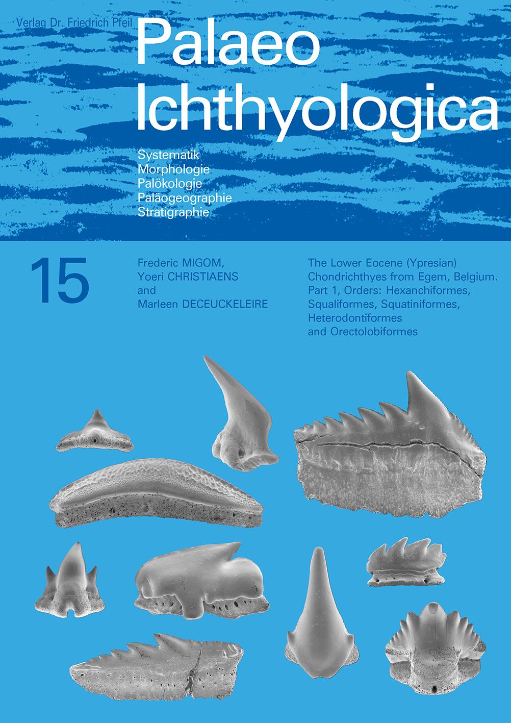 The Lower Eocene (Ypresian) Chondrichthyes from Egem, Belgium