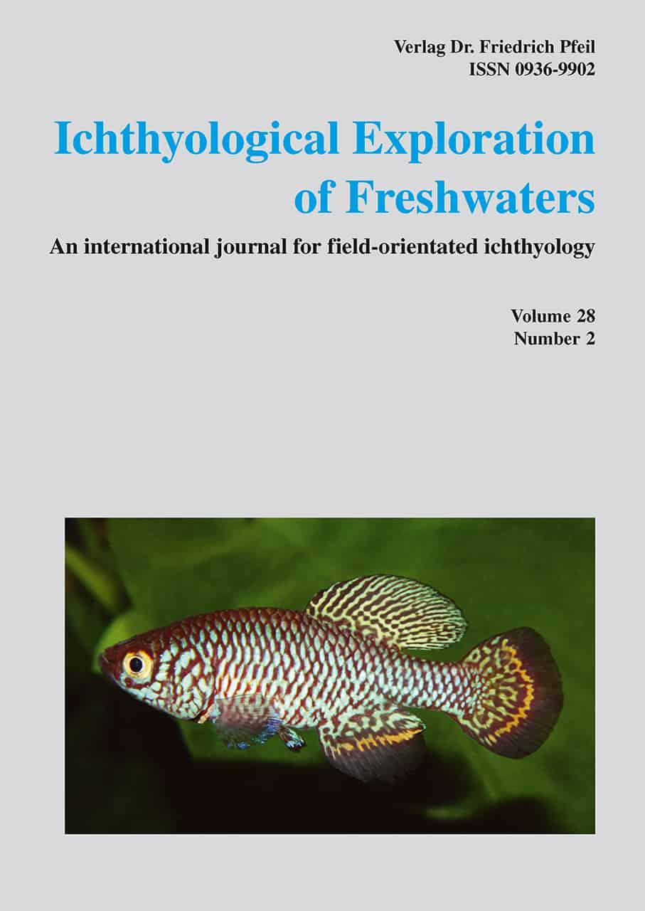 Ichthyological Exploration of Freshwaters, Band 28 (2017)