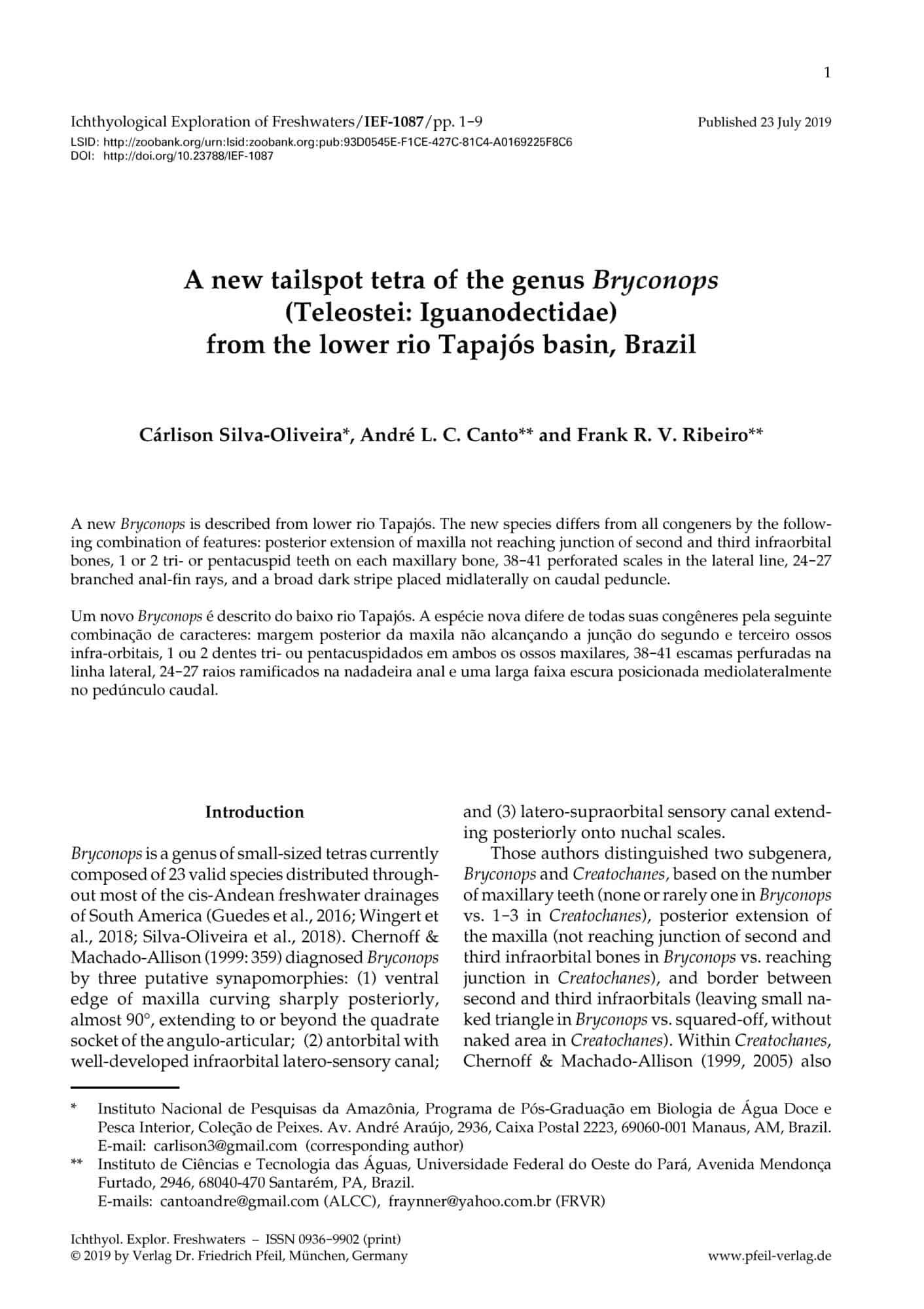 Otolithi piscium (E-Book)