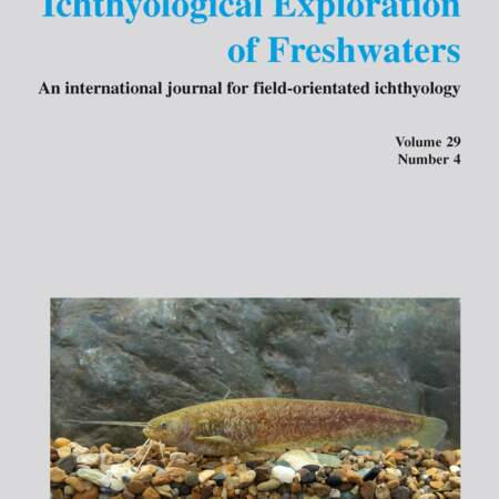 Ichthyological Exploration of Freshwaters, Band 29 (2018)
