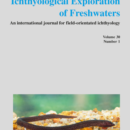 Ichthyological Exploration of Freshwaters, Band 30 (2020)