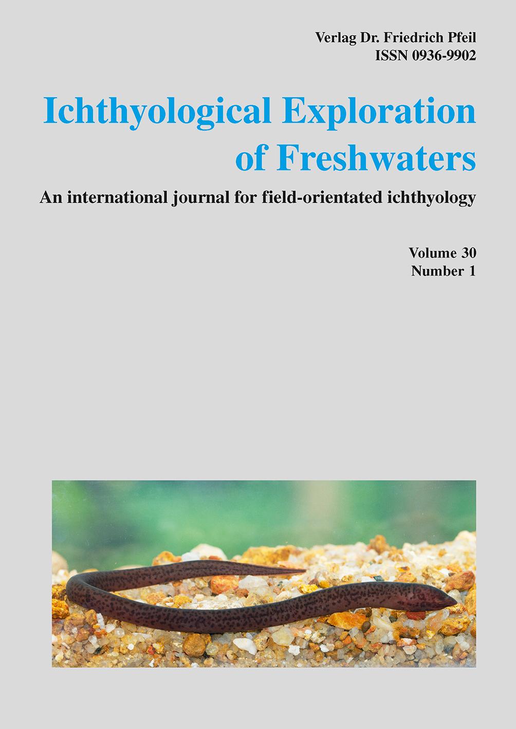 Ichthyological Exploration of Freshwaters, Band 30 (2020)